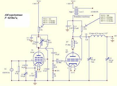 Мощный однотактный ламповый аудиоусилитель на ГУ50